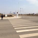Empty roads...