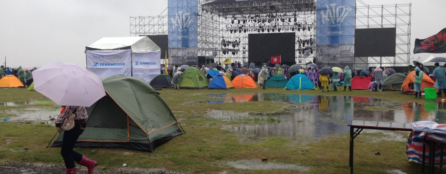 Mongolian Metal Mosh Pit at Midi Festival