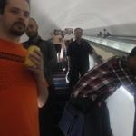 On my way to spot underground trains