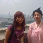 Yi and a local guide