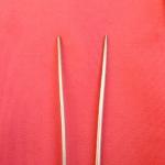 Chopsticks, not silver.
