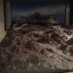 Model of the trenches