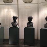 Memorial busts