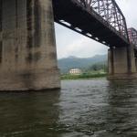 Going under the bridge