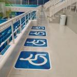 Inside the pool area.