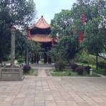 Pagoda outside the temple