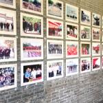 Photos of visiting politicians and diplomats