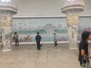 Mural of the river