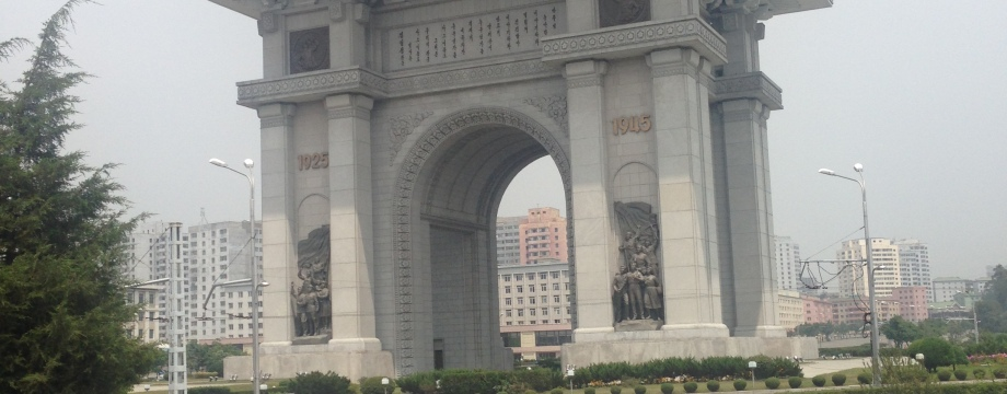 Arch of Triumph and North Korean Hotpot