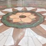 Floral floor.