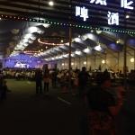 Second beer tent