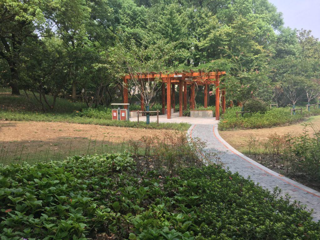 Hengshan Park's Central Pavilion